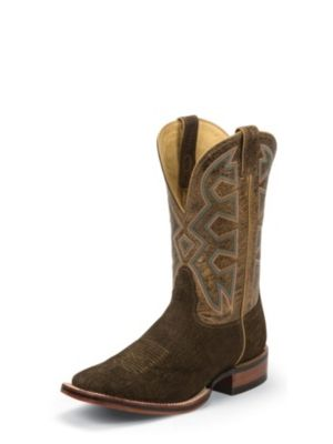 NOCONA Men's Brown Hippo Print Let's Rodeo® Cowboy Boot MD5201
