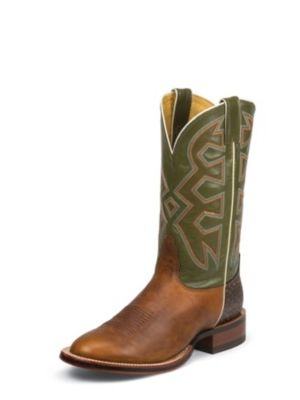 NOCONA MEN'S COGNAC FRIDA LET'S RODEO® COLLECTION WESTERN BOOTS MD5321