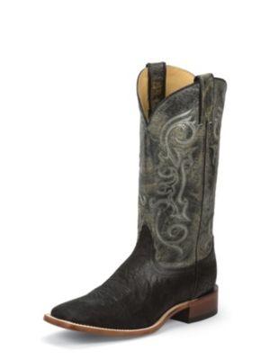 NOCONA Men's Black Elephant Grain Cowboy Boot NB4050