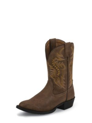 NOCONA KIDS' TAN RODEO WESTERN BOOTS NK3001