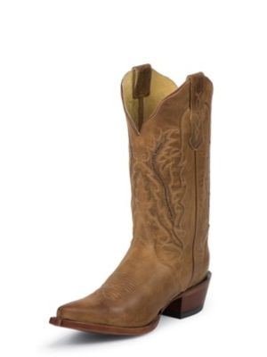 NOCONA WOMEN'S OLD WEST TAN FASHION WESTERN BOOTS NL5015