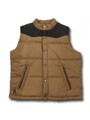 Hooey SSan Saba Large Cell Puffer Ranch Vest PV011TNBR
