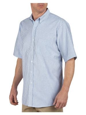 Dickies Mens Button-Down Oxford Short Sleeve Shirt SS46