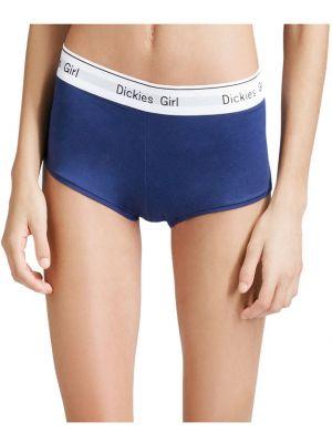 Dickies Girl Juniors Boy Shorts, 3-Pack, Red/Navy/Black UC301A