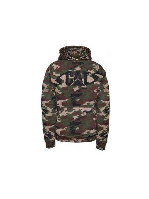 Cat Men's Trademark Hooded Sweatshirt 5683