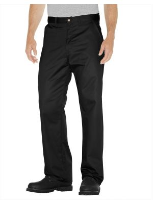 Dickies Premium Cotton Flat Front Pant WP314 Black (BK)