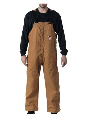 Walls Men's Flame Resistant Insulated Bib YB153