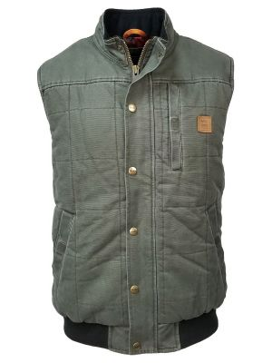 Walls Men's Bluff Vintage Quilted Vest YE825